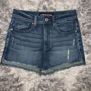 Express high wasted shorts!